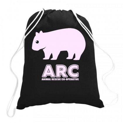 Arc Wombat Gear , Animal Rescue Co Operative Drawstring Bags Designed By Butterfly99