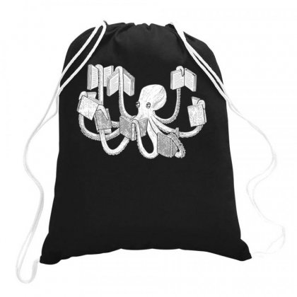 Armed With Knowledge Drawstring Bags Designed By Butterfly99