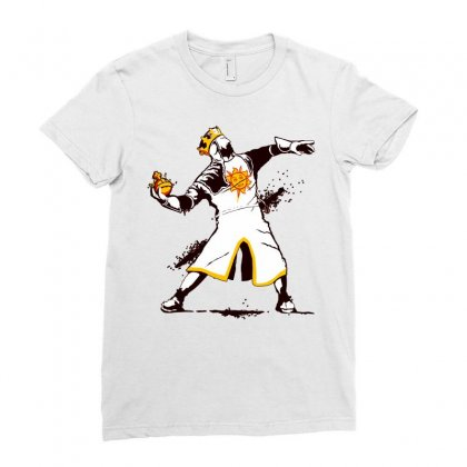 Banksy Python 1 2 5 Ladies Fitted T-shirt Designed By Butterfly99