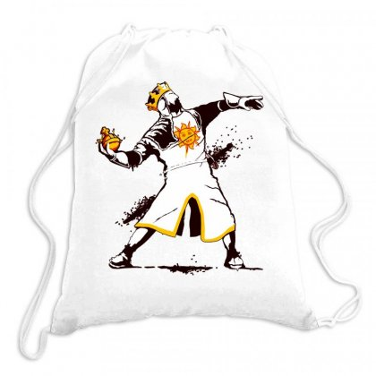 Banksy Python 1 2 5 Drawstring Bags Designed By Butterfly99