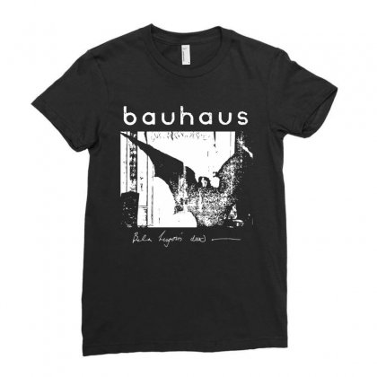 Bauhaus ,bat Wings , Bela Lugosi's Dead Ladies Fitted T-shirt Designed By Butterfly99
