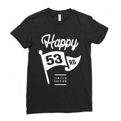 53 Year Old - 53rd Birthday Funny Gift Ladies Fitted T-shirt Designed By Cidolopez