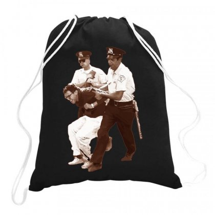 Bernie Sanders Arrested Drawstring Bags Designed By Butterfly99