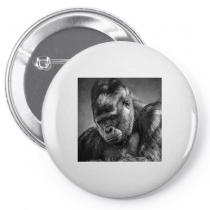 Gorilla Pin-back Button Designed By Vj575789