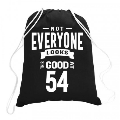 54 Year Old - 54th Birthday Funny Gift Drawstring Bags Designed By Cidolopez