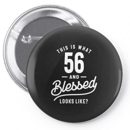 56 Year Old - 56th Birthday Funny Gift Pin-back Button Designed By Cidolopez