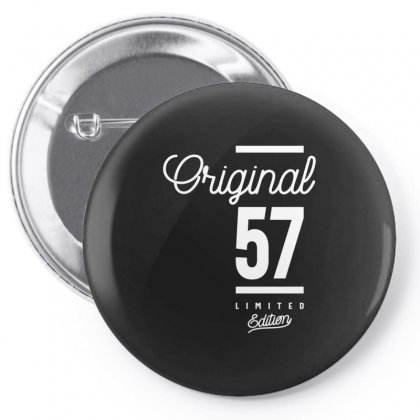57 Year Old - 57th Birthday Funny Gift Pin-back Button Designed By Cidolopez