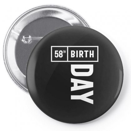 58 Year Old - 58th Birthday Funny Gift Pin-back Button Designed By Cidolopez