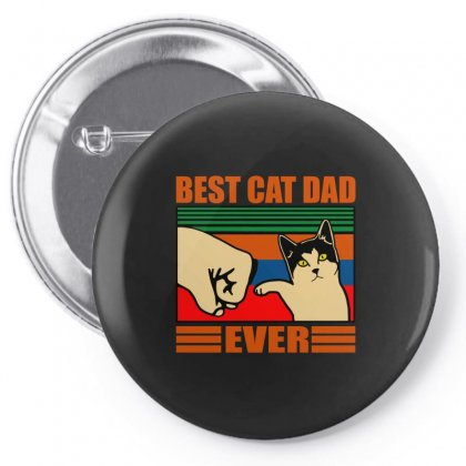 Best Cat Dad Ever Pin-back Button Designed By Butterfly99