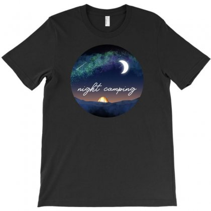 Night Camping T-shirt Designed By Neset