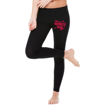 Happy Mothers Day Legging Designed By Designisfun