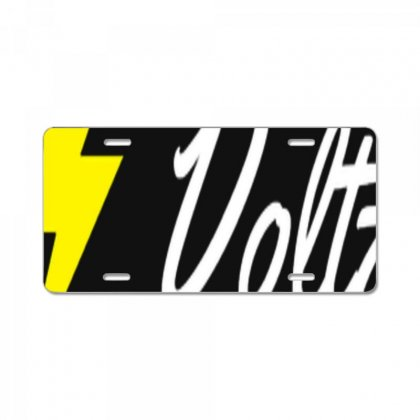 Team Voltz License Plate Designed By Kuluflame