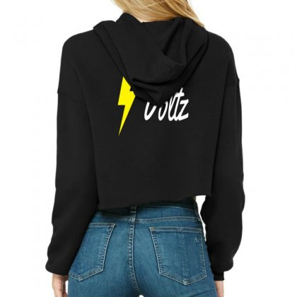 Team Voltz Cropped Hoodie Designed By Kuluflame
