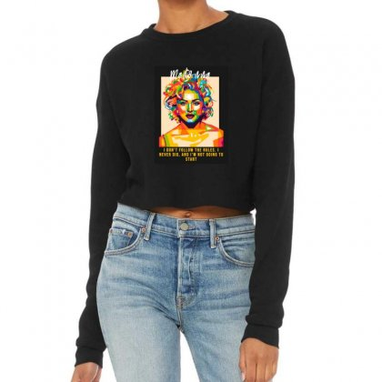 Queen Cropped Sweater Designed By Sr88