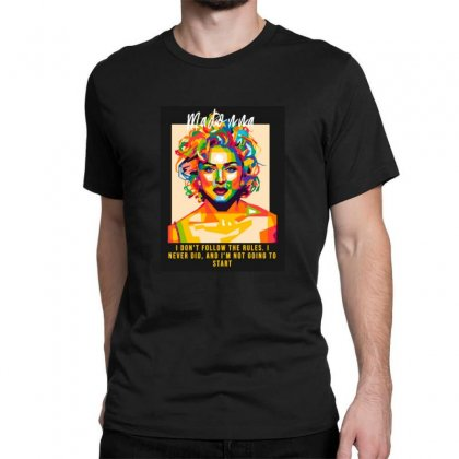 Queen Classic T-shirt Designed By Sr88