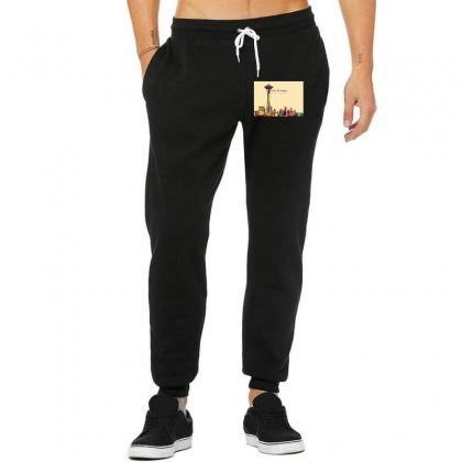 Seattle Skyline Unisex Jogger Designed By Sr88