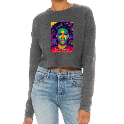 Serena Williams Cropped Sweater Designed By Sr88
