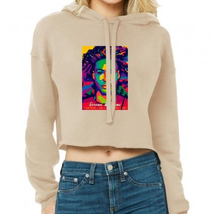 Serena Williams Cropped Hoodie Designed By Sr88