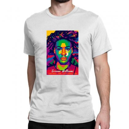 Serena Williams Classic T-shirt Designed By Sr88