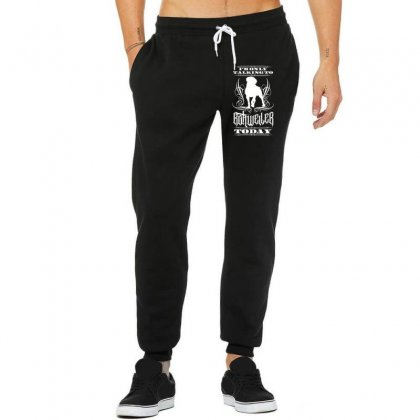 I'm Only Talking To My Rottweiler Today Unisex Jogger Designed By Tiococacola