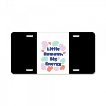 Colorful Shapes Kids Group T Shirt License Plate Designed By Say2020