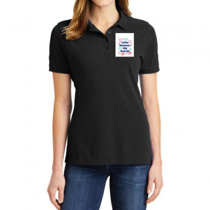 Colorful Shapes Kids Group T Shirt Ladies Polo Shirt Designed By Say2020