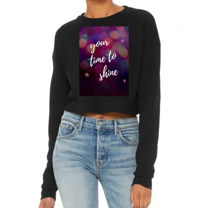 Shine Cropped Sweater Designed By Say2020