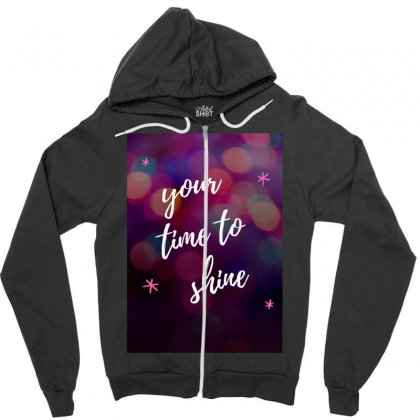 Shine Zipper Hoodie Designed By Say2020