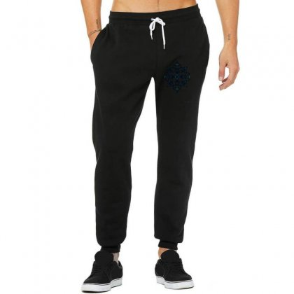 Black Snowflake Unisex Jogger Designed By Lyrielll