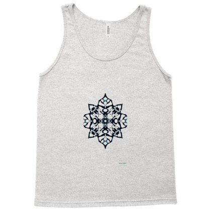 Black Snowflake Tank Top Designed By Lyrielll