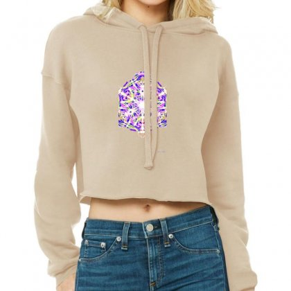 Colorgate Cropped Hoodie Designed By Lyrielll