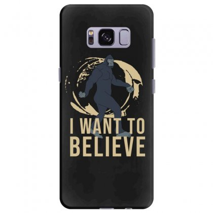 I Want To Believe Samsung Galaxy S8 Plus Case Designed By Cypryanus