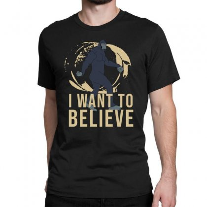 I Want To Believe Classic T-shirt Designed By Cypryanus