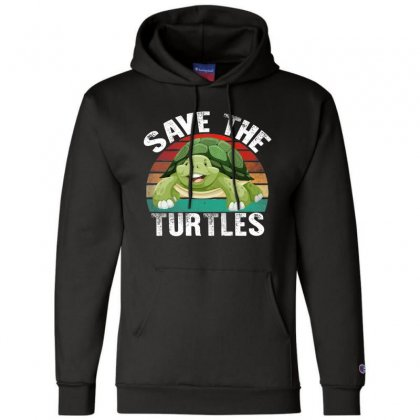 Save The Turtles Shirt Champion Hoodie Designed By Faical