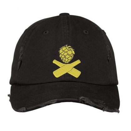 Bottle Pineapple Distressed Cap Designed By Madhatter