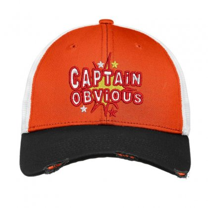 Caption Obvious Vintage Mesh Cap Designed By Madhatter
