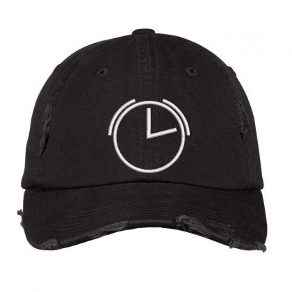 2'o Clock Distressed Cap Designed By Madhatter