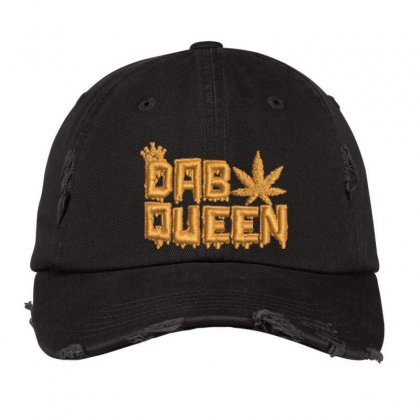 Dab Queen Distressed Cap Designed By Madhatter
