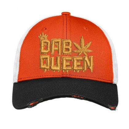 Dab Queen Vintage Mesh Cap Designed By Madhatter
