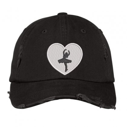 Dancing  Girl Distressed Cap Designed By Madhatter