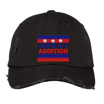 Great Addition Distressed Cap Designed By Madhatter