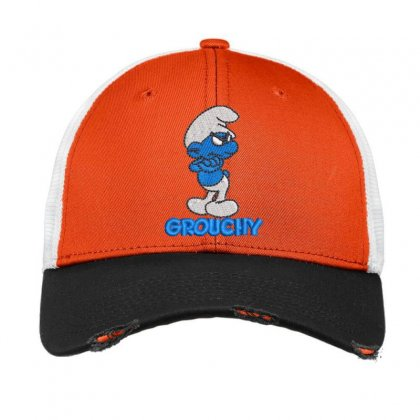 Grouchy Vintage Mesh Cap Designed By Madhatter