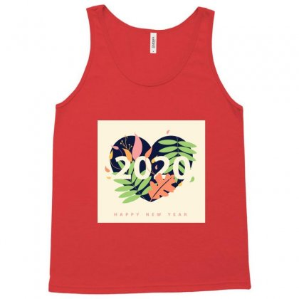 New Year Tank Top Designed By Ronyliza