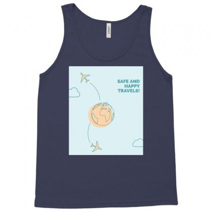Happy With Travel ٠٣٣٧١٠ Tank Top Designed By Ronyliza