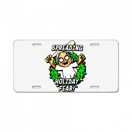 Holiday Fear License Plate Designed By Ninja Art