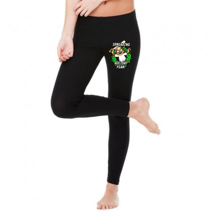Holiday Fear Legging Designed By Ninja Art