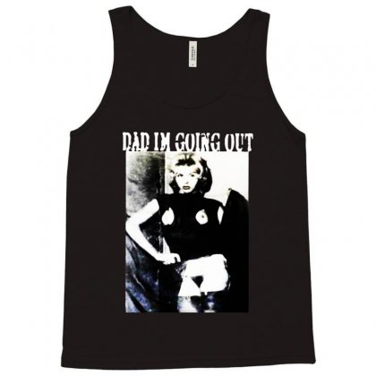 Dad Im Going Out Tank Top Designed By Ninja Art