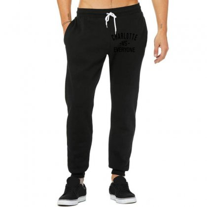 Charlotte Vs Everyone Black Style Unisex Jogger Designed By Ninja Art