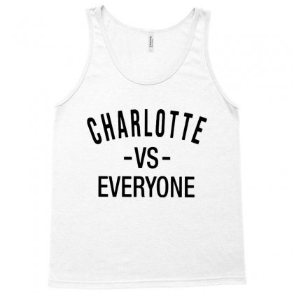 Charlotte Vs Everyone Black Style Tank Top Designed By Ninja Art