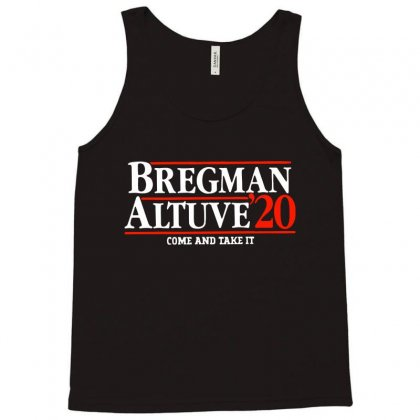 Bregman Altuve 2020 Tank Top Designed By Ninja Art
